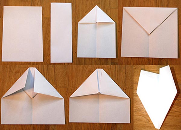 Как из бумаги сделать самолет простой
