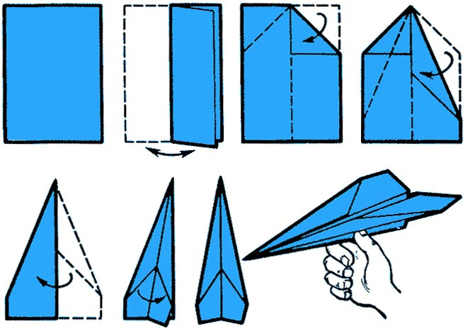 Самолёты из бумаги