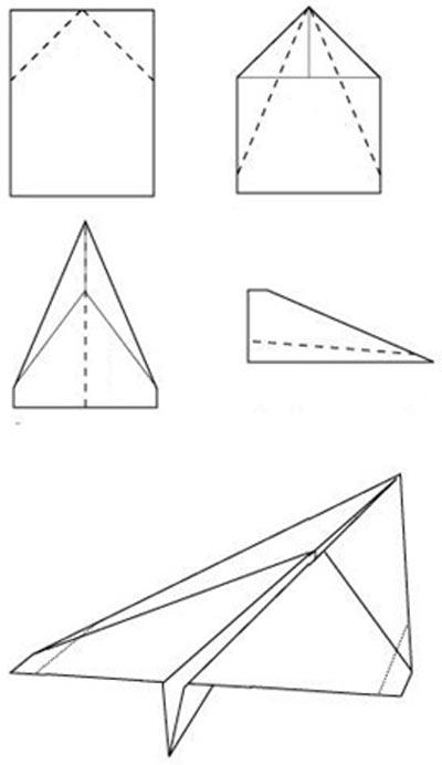 Как сделать из большой бумаги самолет