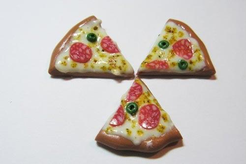 Полимерная глина мастер класс пицца
