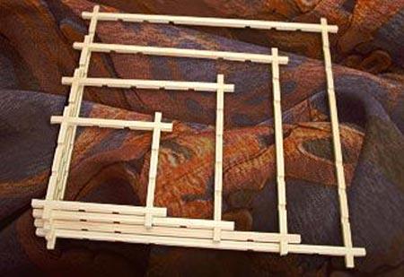 Рама для батика своими руками 31