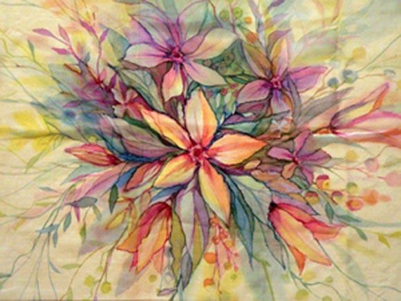 картинки свободная роспись батик