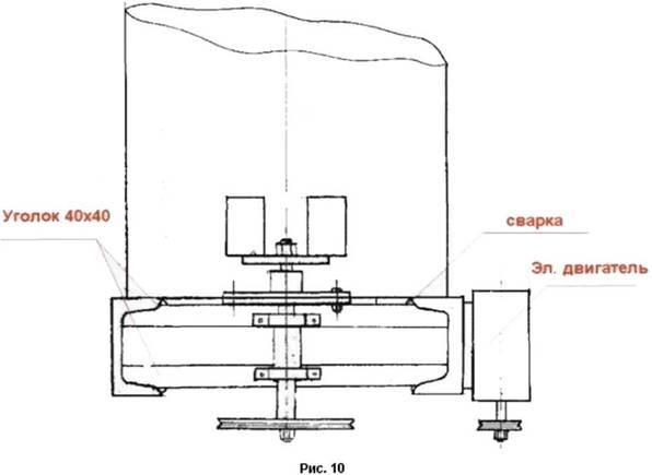Общая схема бароустановки
