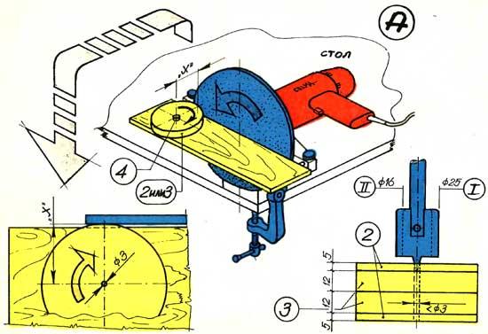 Как и вырезать для станка