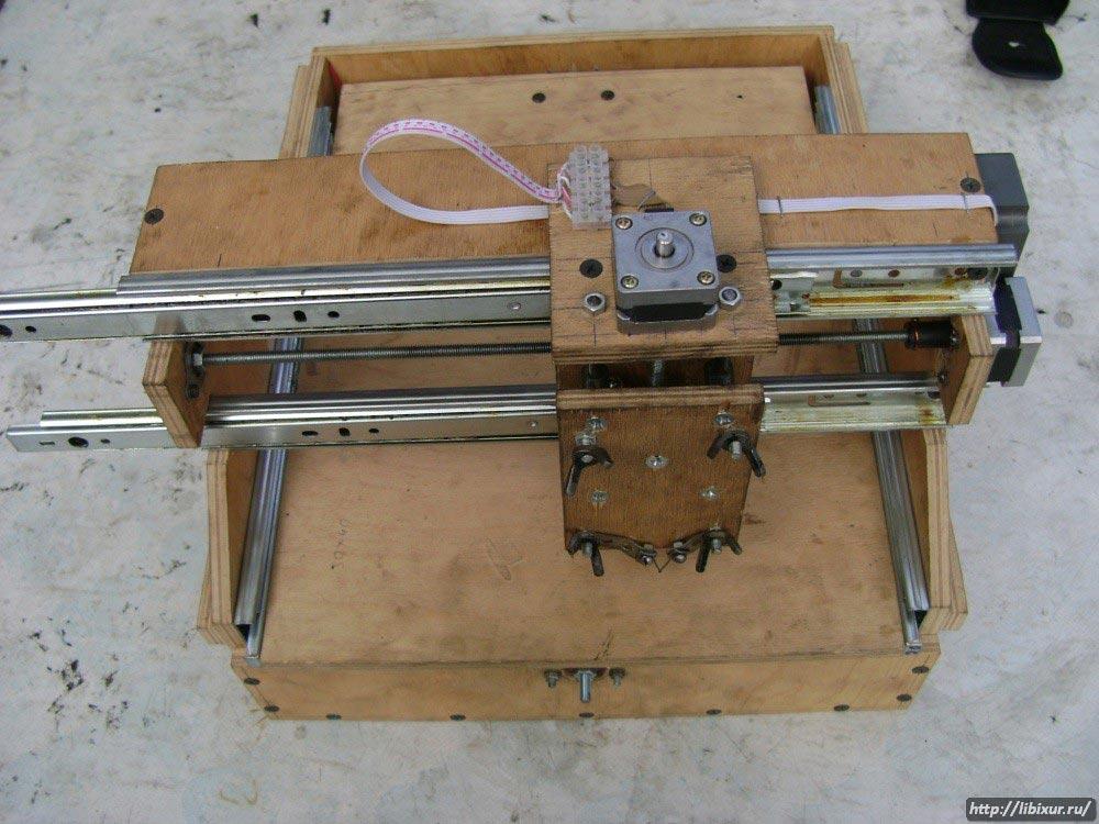 Фрезерный станок с чпу по дереву своими руками из принтера 21