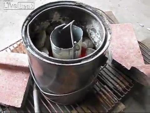 Плавильня для алюминиевых банок