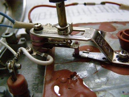 Терморегулятор для утюга