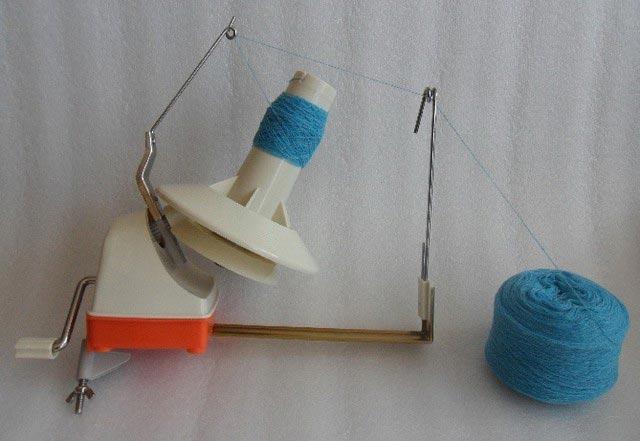 Перемотка ниток для вязания 51