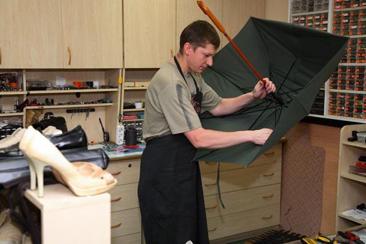 Ремонт зонта своими руками фото