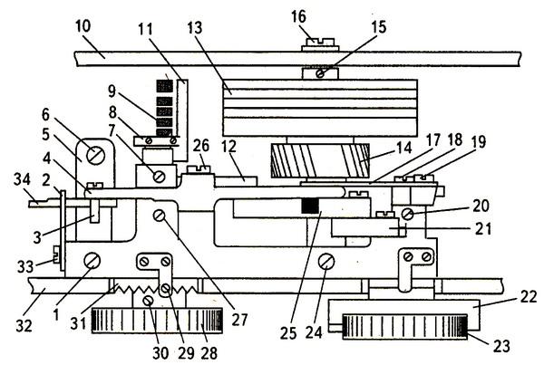 швейная машинка чайка схема электропривода