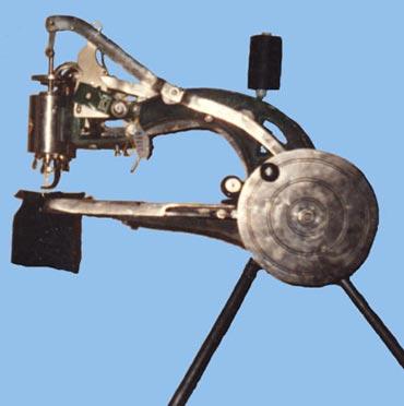 Машинка для шитья по коже
