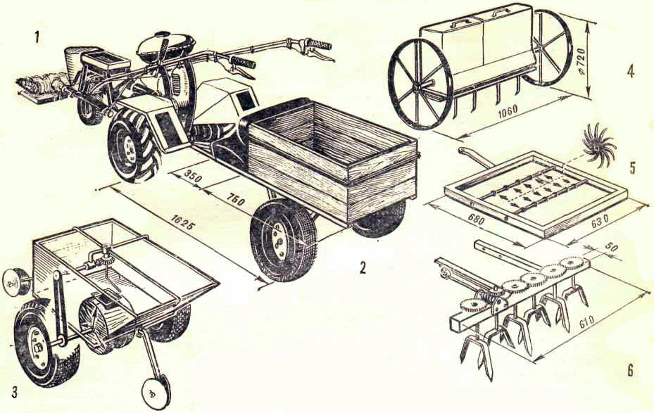 Телега для квадроцикла своими руками чертежи 55