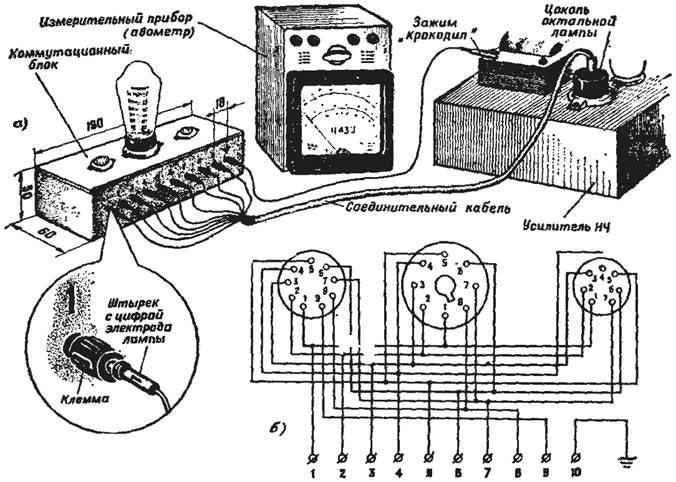 роботы радиоламп и схема