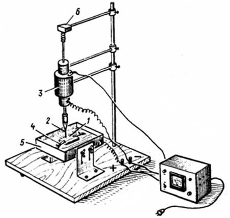 Электроискровая установка