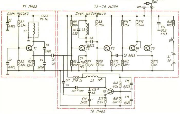 Рис 1 внешний вид металлоискателя