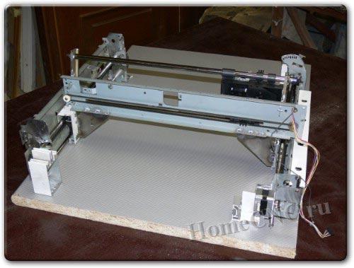 Принтер струйный своими руками