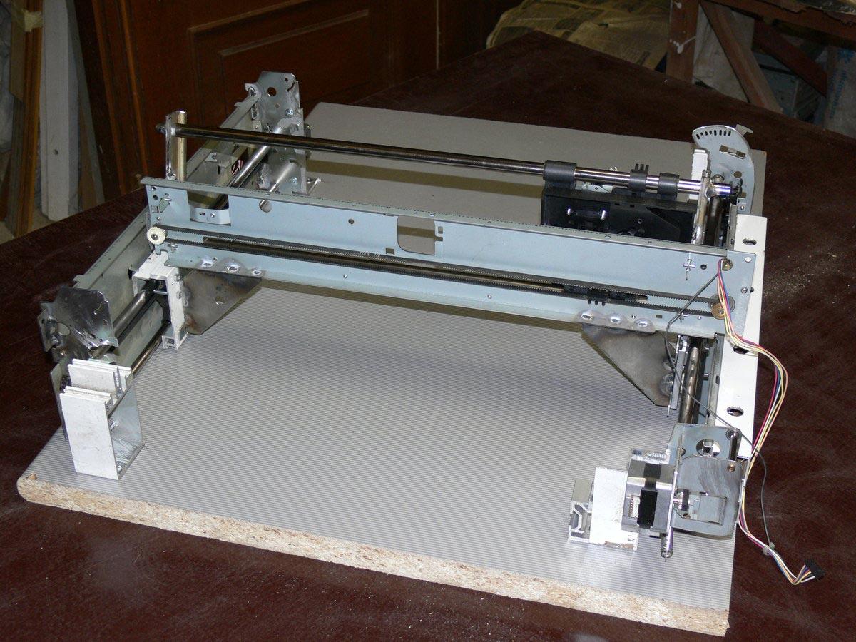 Планшетный плоттер своими руками