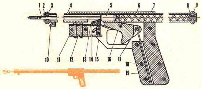 Изготовление гарпуна для подводного ружья своими руками