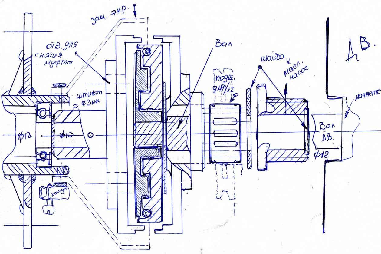 Лодочный мотор из бензопилы урал своими руками