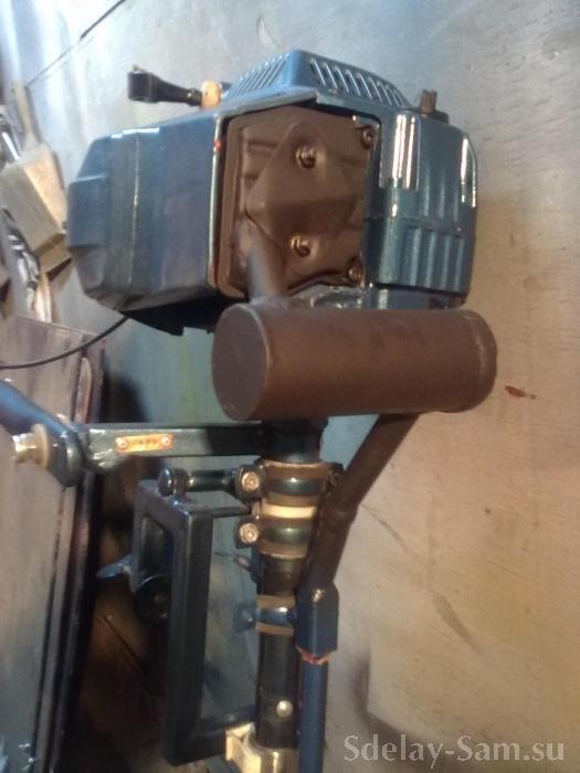 Лодочный мотор из бензопилы дружба своими руками