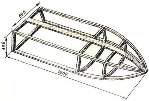 как построить лодку из стеклоткани