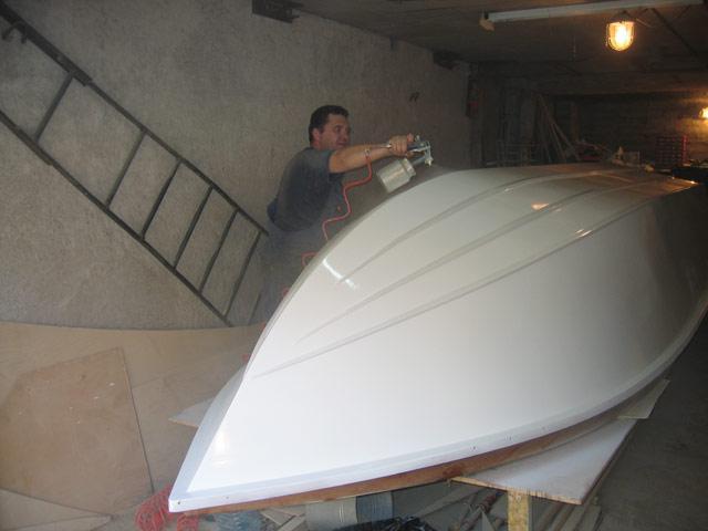 видео как сделать лодку из стеклоткани своими руками