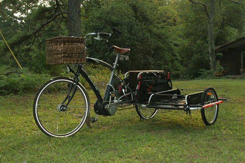 Как сделать на велосипед с коляской