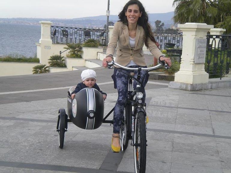 Велосипед с коляской для детей своими руками