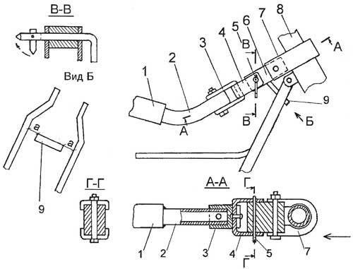 Прицепное устройство для велосипеда своими руками 99
