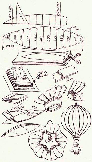 Как сделать воздушный китайский фонарик своими руками