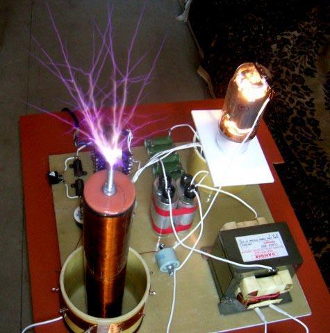 Собрать генератор тесла