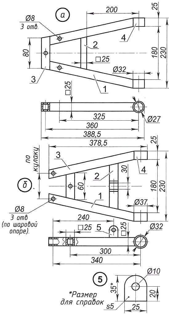Квадроцикла своими руками чертежи 95